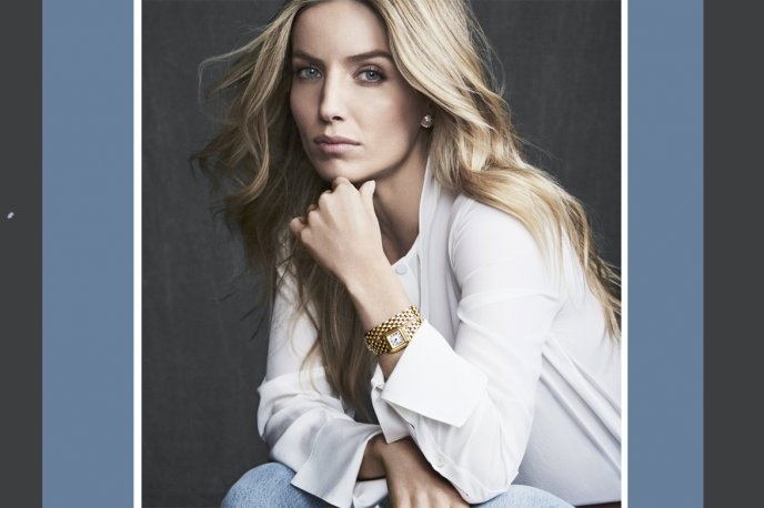 Annabelle Wallis embodies the Panthère woman for Cartier  People and interviews
