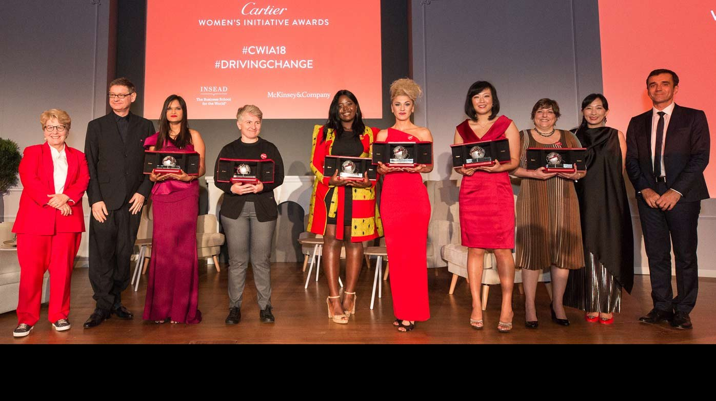 Cartier - Cartier Women's Initiative Awards 2018 laureates