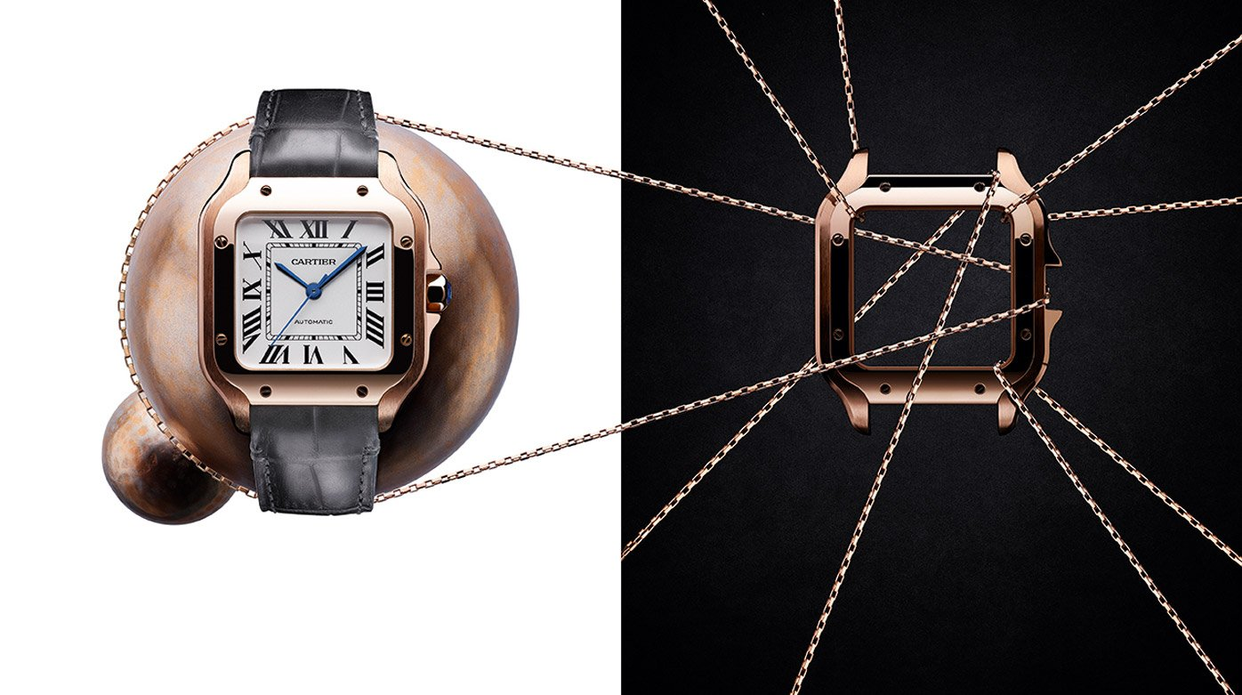 Cartier - Up close and personal with the new Santos