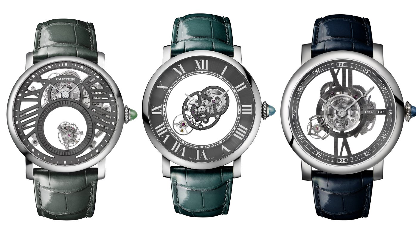 Cartier - Fine Watchmaking - Rotondes Watches