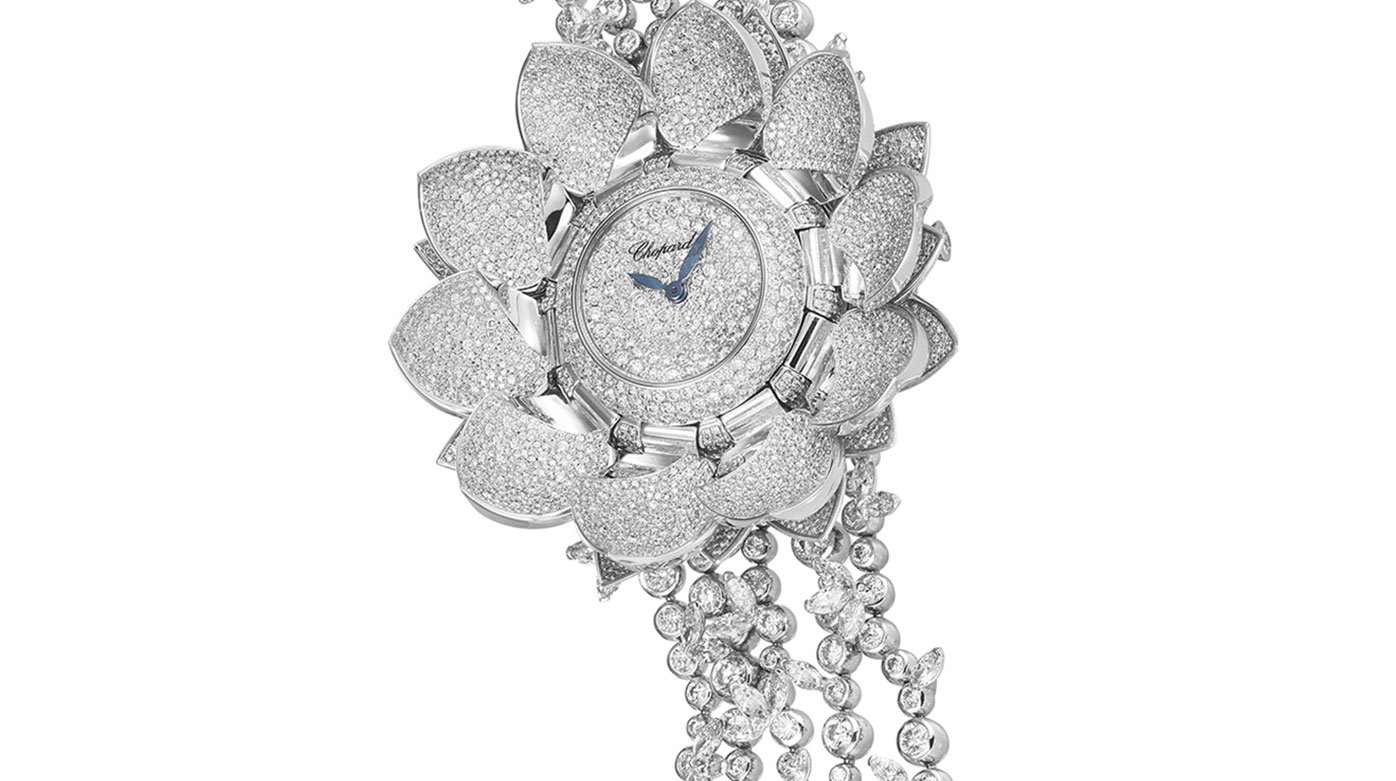 Chopard - The Jewellery Watch Prize given to the Lotus Blanc Watch