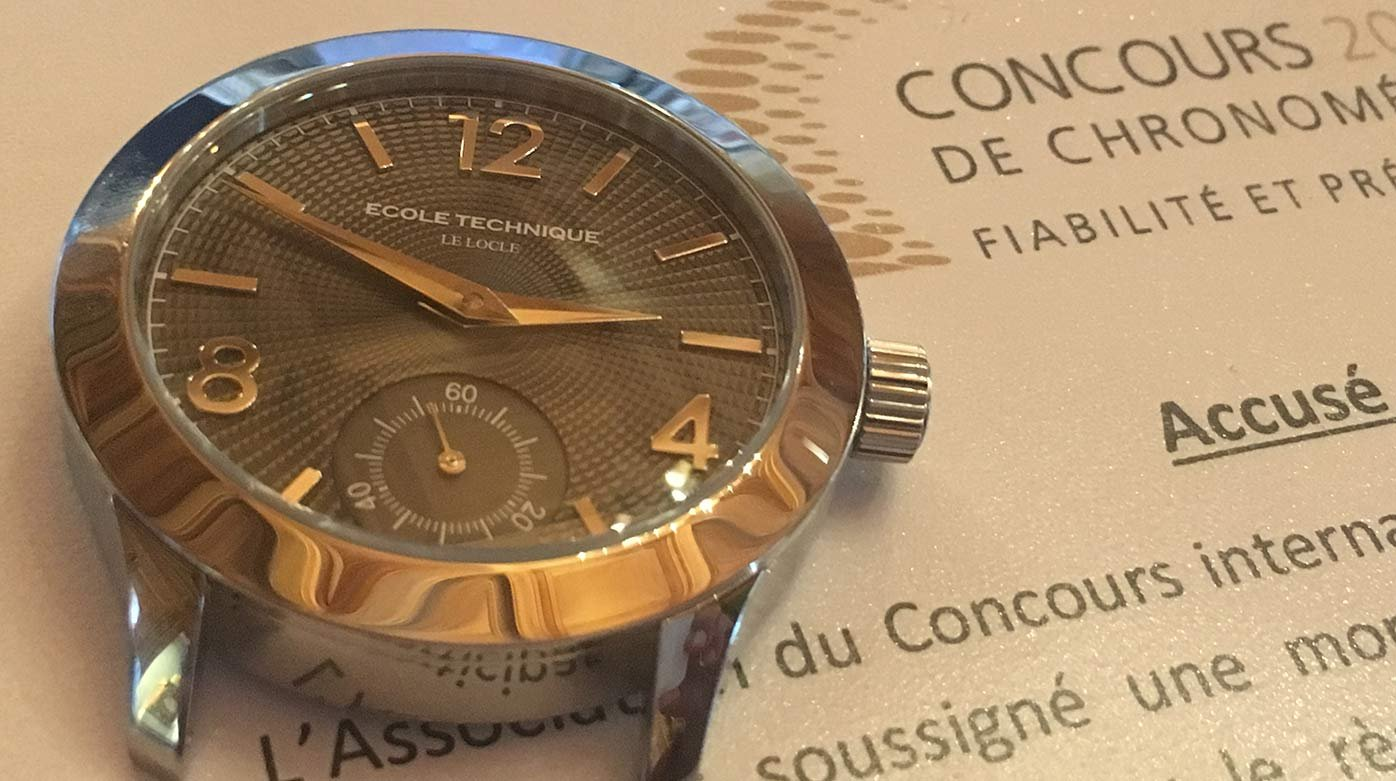 Chronometry 2019 competition - Two surprise guests