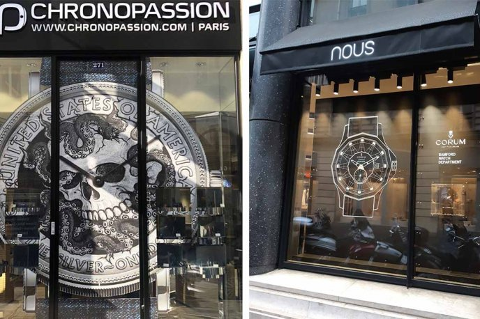 In Paris at Chronopassion and at Nous Trends and style