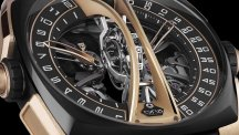 Klepcys Vertical Skeleton Tourbillon