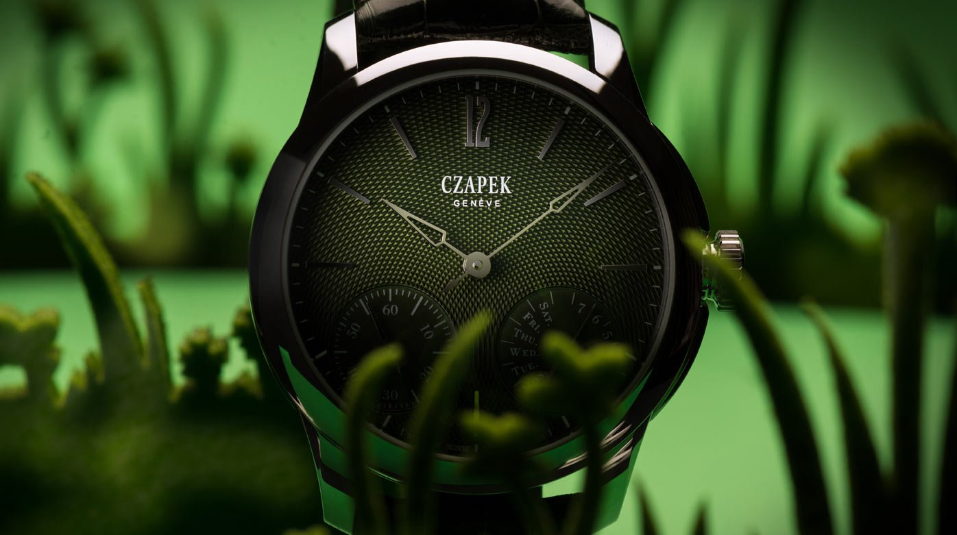 Czapek & Cie. - New colours for Czapek's engine-turned dials