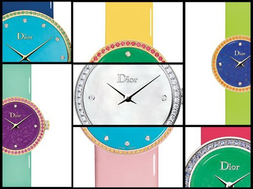 """Baselworld 2016: Dior - """"Satine"""" and """"Granville"""" boldly augment the """"D de Dior"""" collection"""