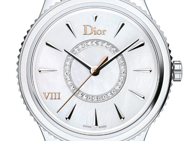 Dior - Dior VIII Montaigne, Steel and Mother-of-Pearl