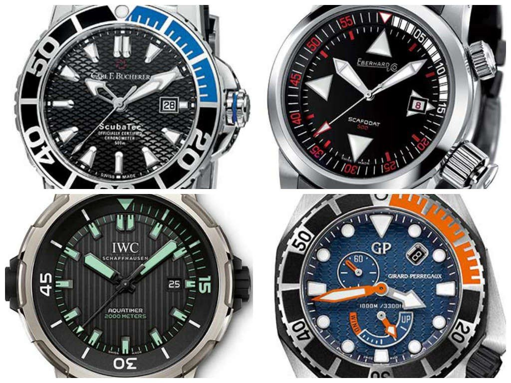 Diver's watches - Deeper and deeper