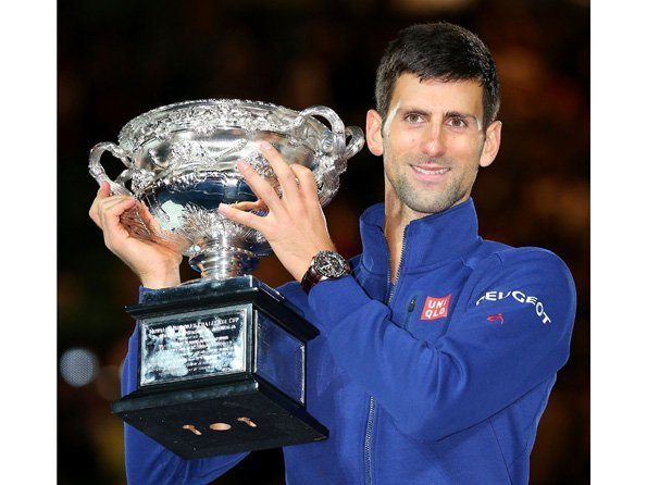Monte Carlo Rolex Masters - Novak Djokovic has a weakness… for the  Astron GPS Solar Dual-Time