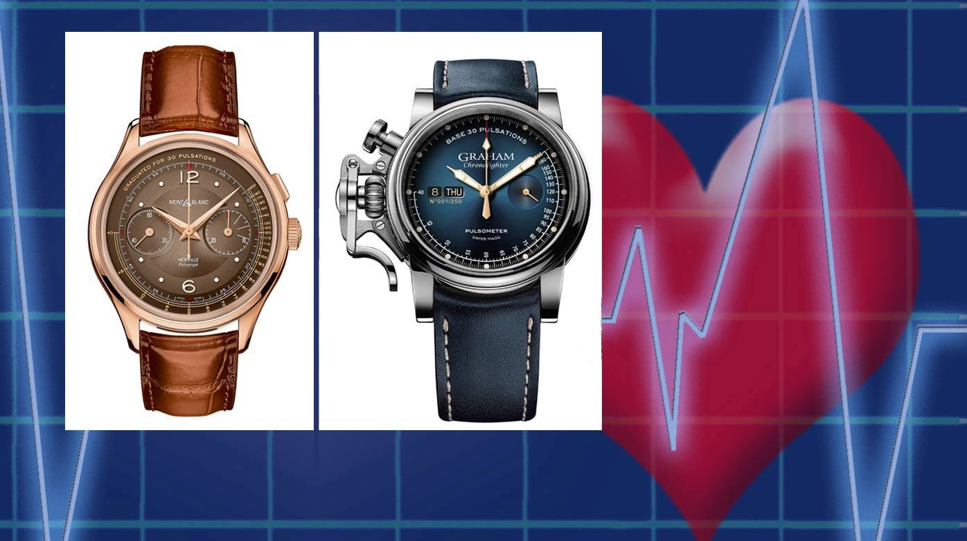 Pulsometer watches - How fast is your heart beating?