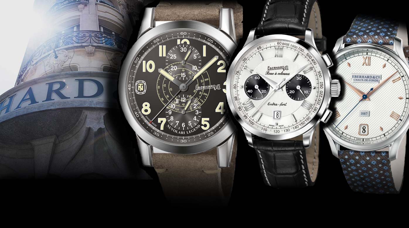 One brand, three watches - Today: Eberhard & Co