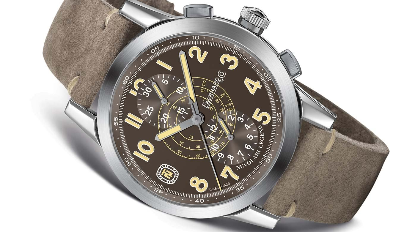 "Eberhard & Co. - Nuvolari Legend ""The Brown Helmet"""