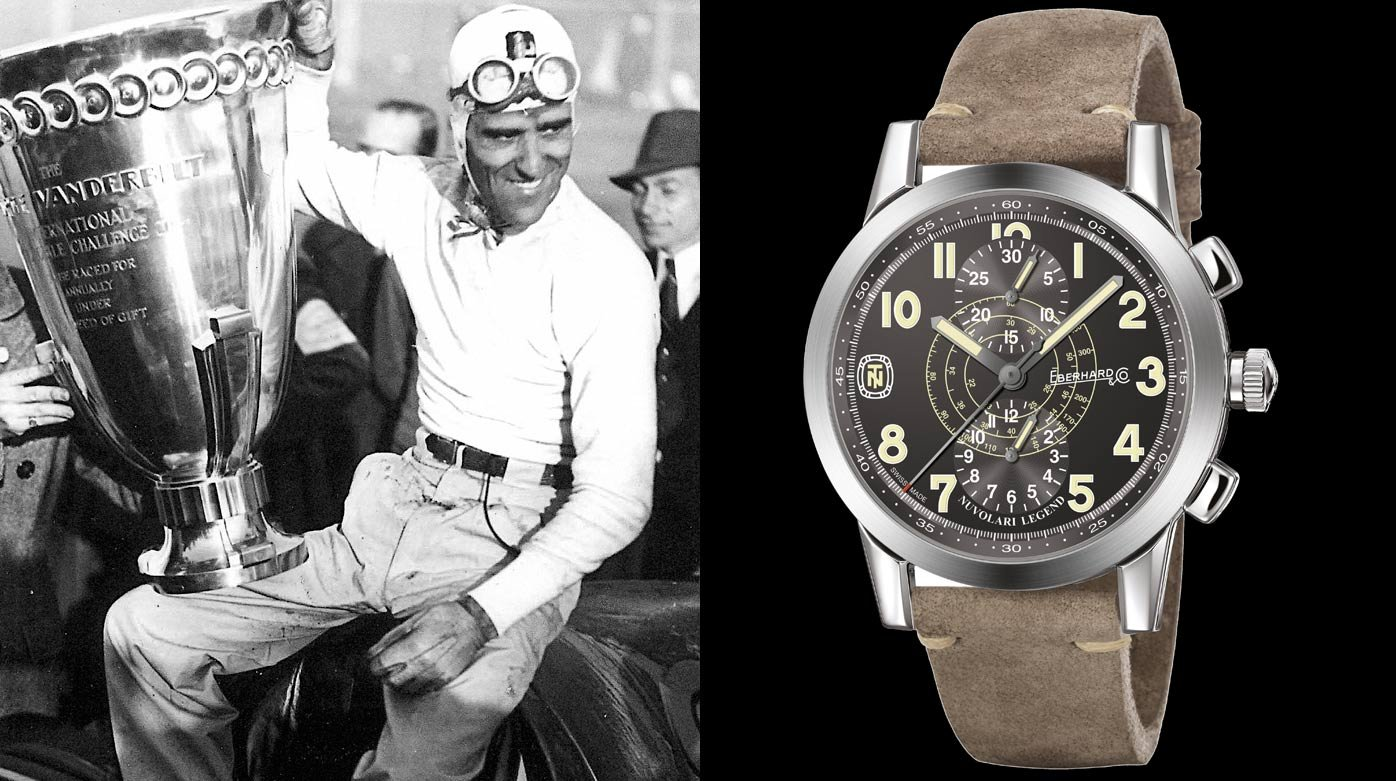 Eberhard & Co. - Tazio Nuvolari Legend