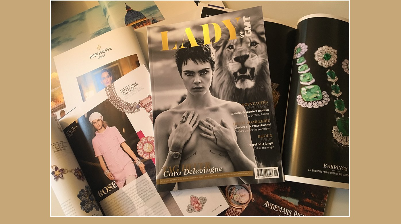 Editorial - The Lady by GMT special issue is out