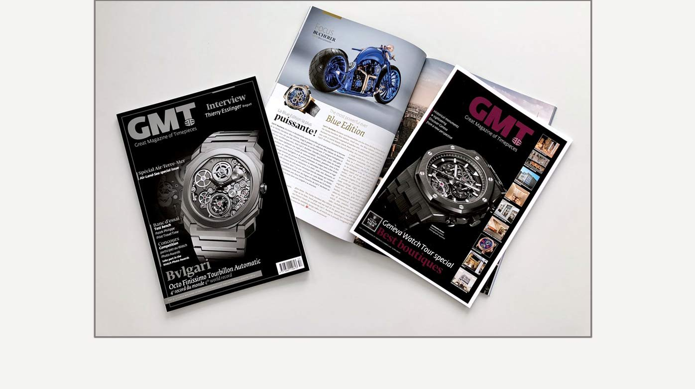Editorial - GMT Magazine Summer - Air-Land-Sea special issue