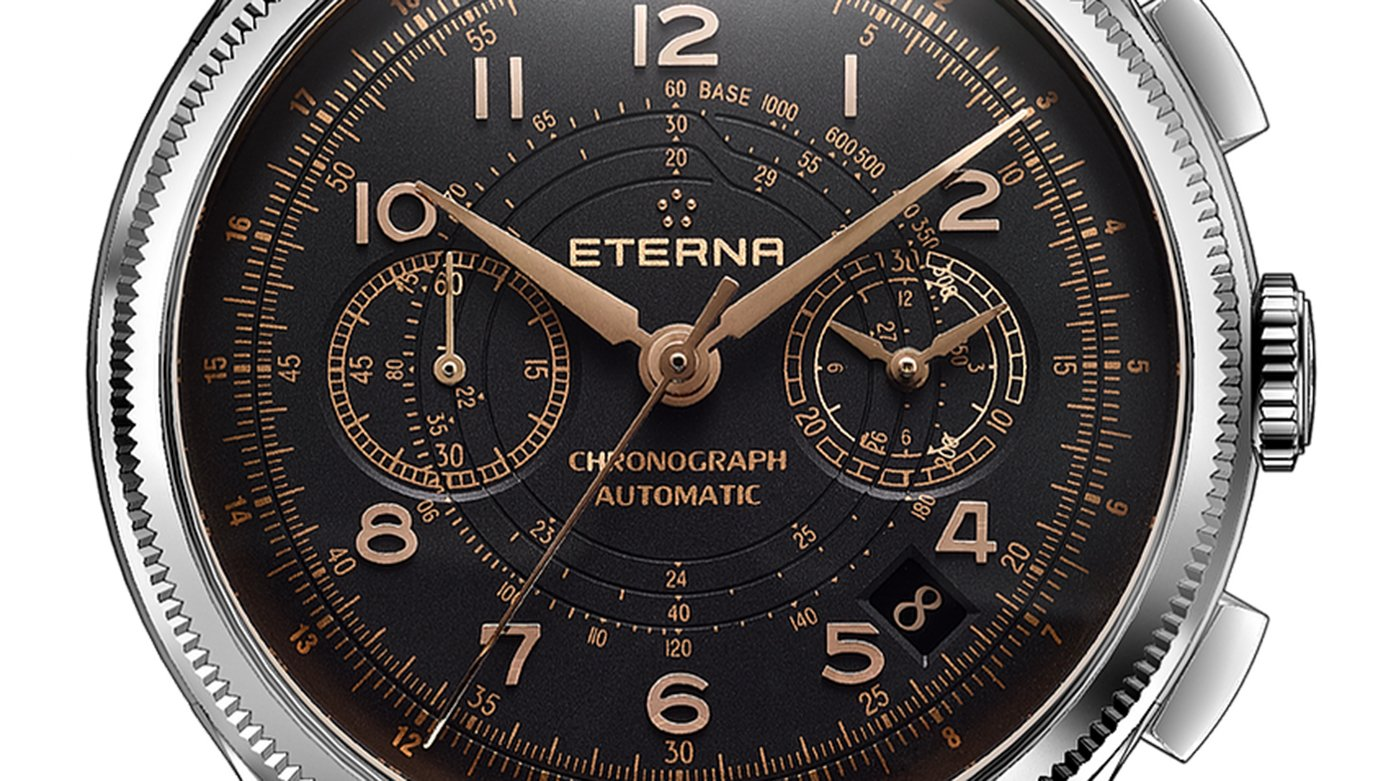 Eterna - Hands-On With The Eterna Heritage 1940 Chronograph Telemeter