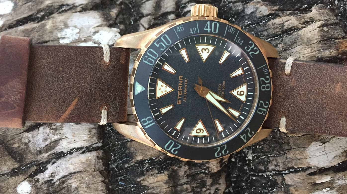Eterna - Real-life test: Eterna Kontiki Bronze (048/300)