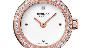 Montre Faubourg, or rose Style & Tendance