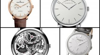 Hail to the slim watch Trends and style