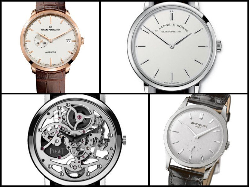 Dress watches - Hail to the slim watch
