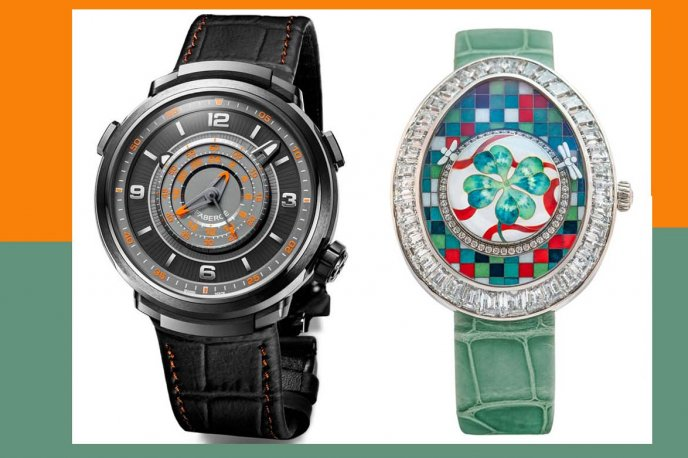 Two watches shortlisted in the GPHG Watches