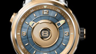 Modern vintage: the Fabergé Visionnaire DTZ in yellow gold Trends and style