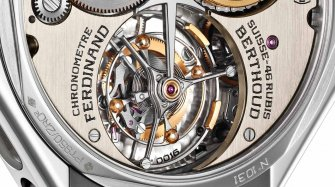 The four differences of the Ferdinand Berthoud tourbillon