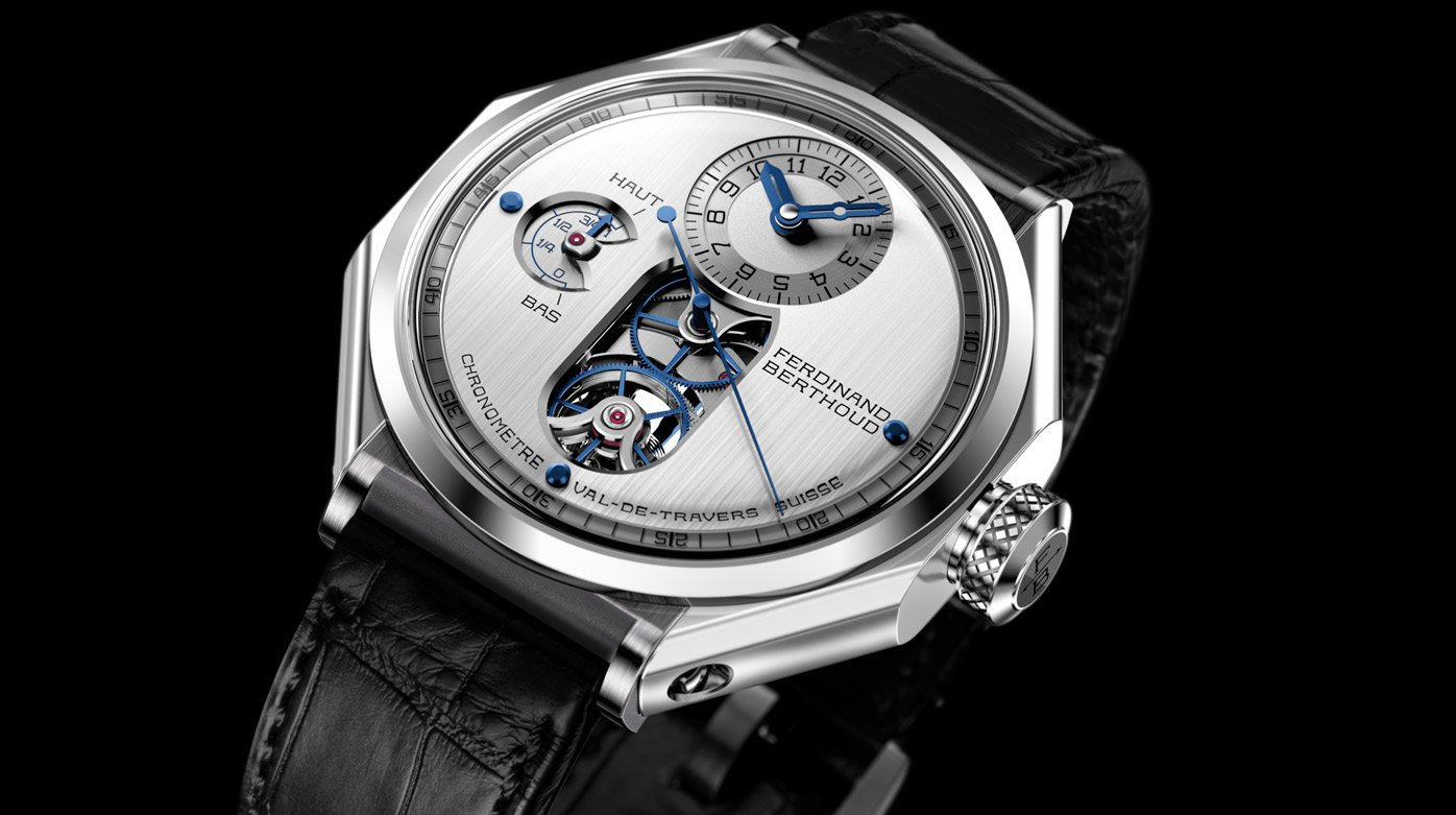 Ferdinand Berthoud - FB 1.4 : Light and airy with titanium and sapphire