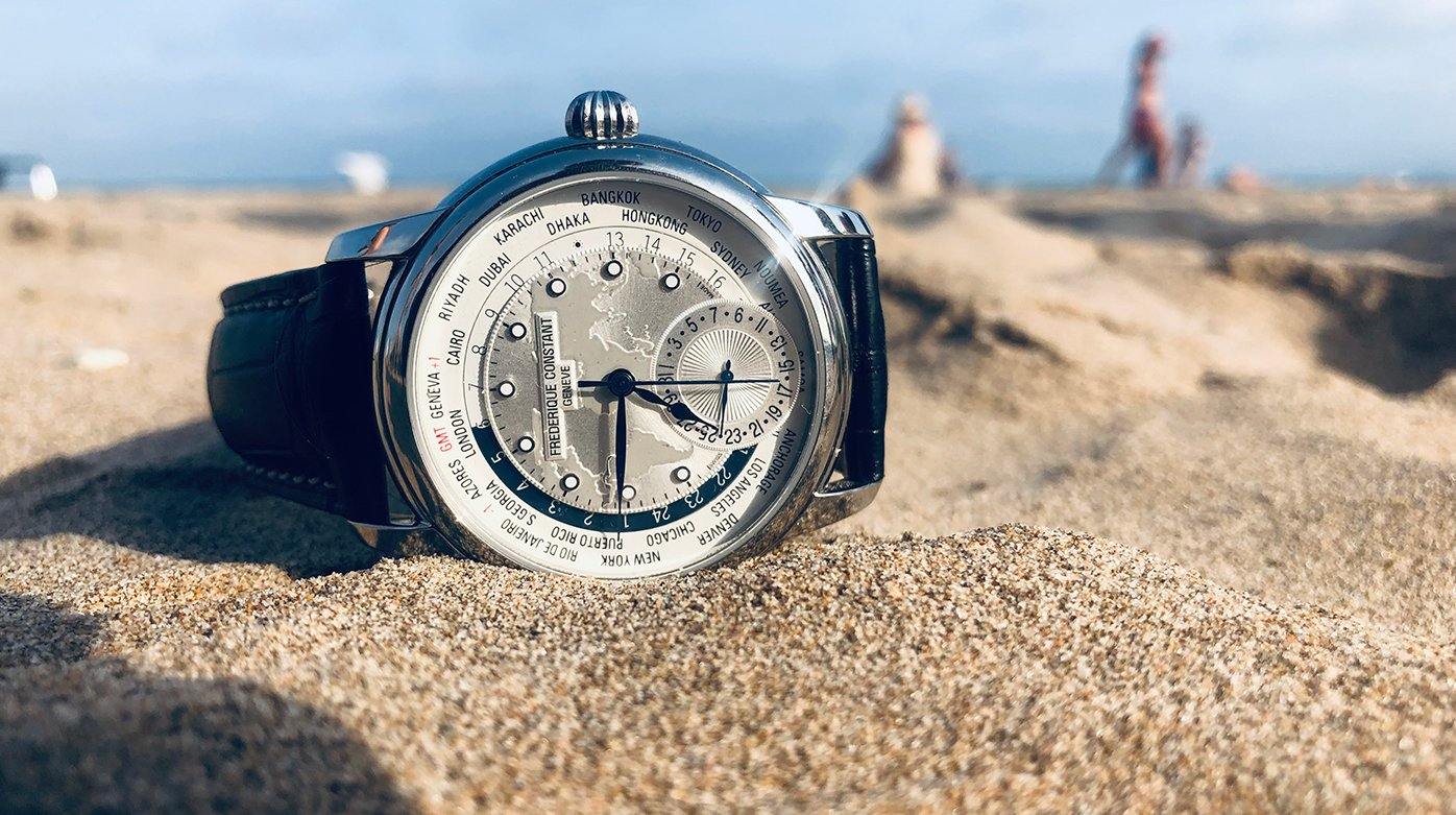 Arije x Frederique Constant - The World at Your Fingertips