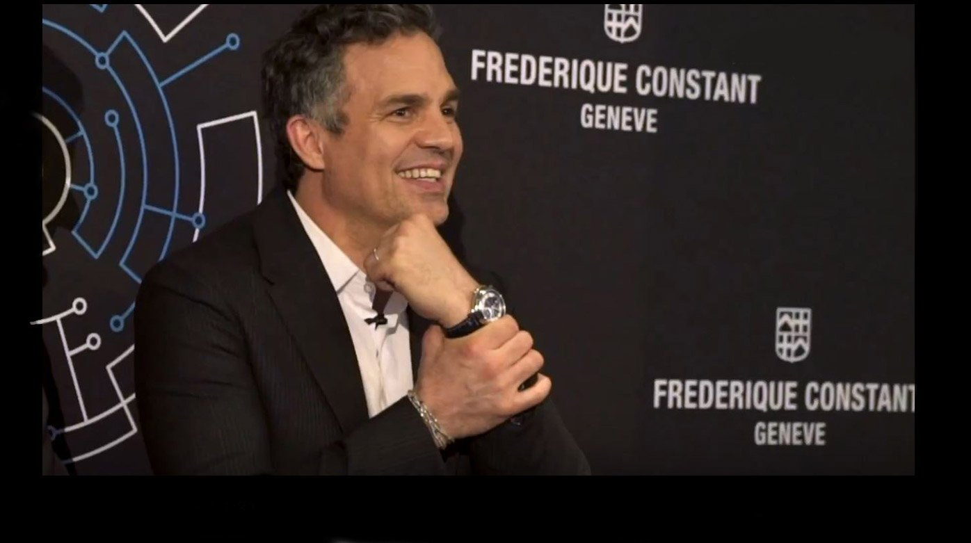 Frederique Constant - The Hybrid Manufacture launched in NYC with Mark  Ruffalo