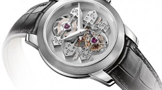 Tourbillon with three gold Bridges Trends and style