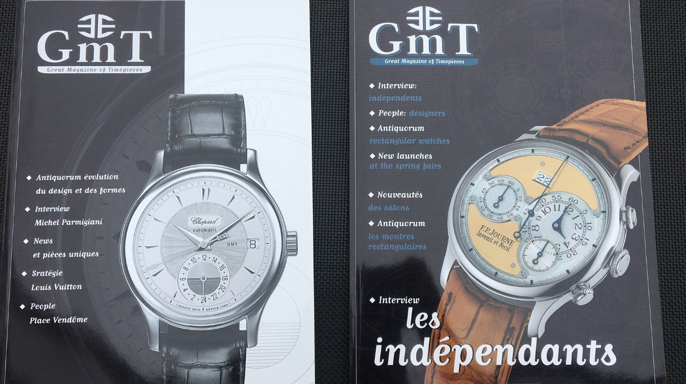 GMT Magazine - Watchmaking in 2002* was all about sports!