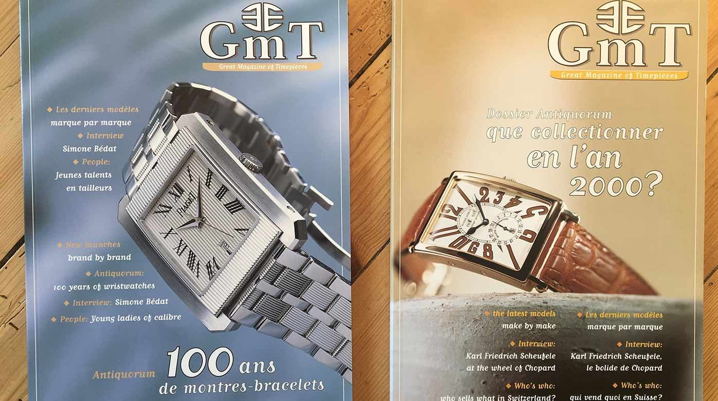 GMT Magazine - Watchmaking in the year 2000*
