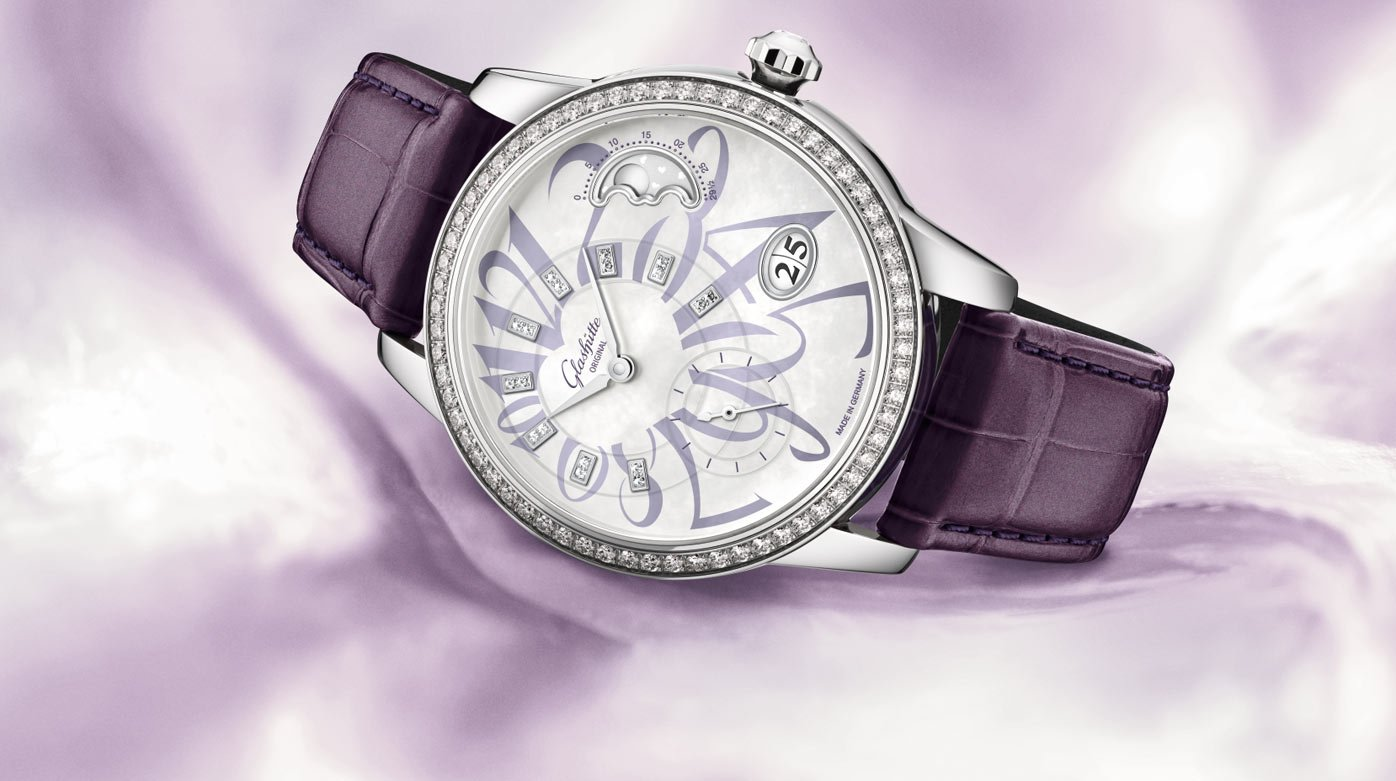 Glashütte Original - A declaration of love in lilac