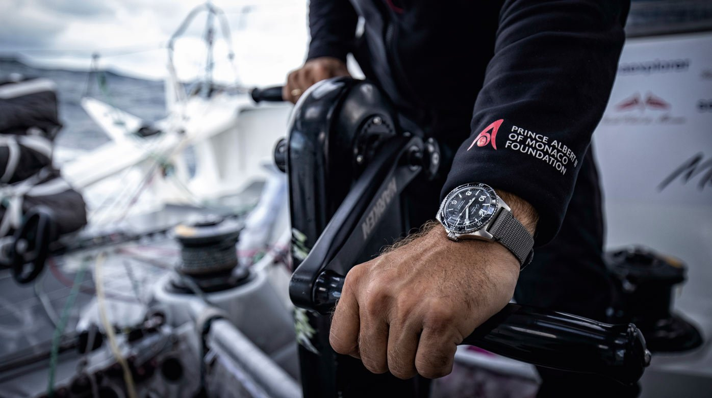 Glashütte Original - Partnership With German offshore sailor