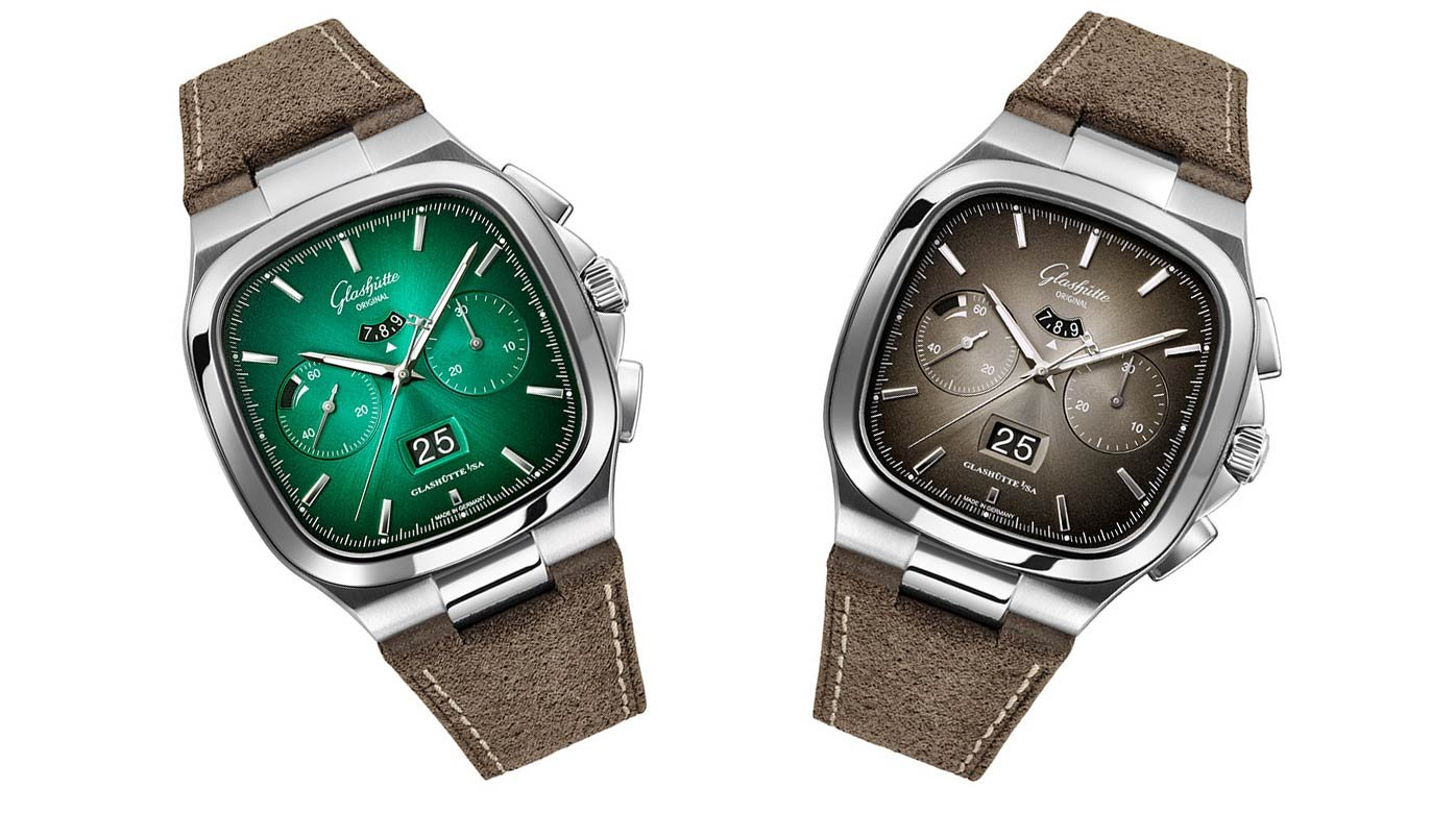 Glashütte Original - Chronograph in a fascinating colour-play
