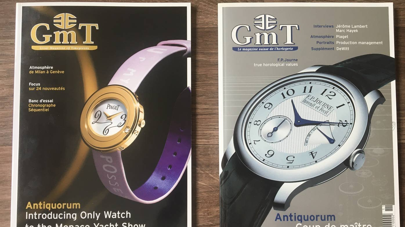 GMT Magazine - 2005: A good year for watchmaking