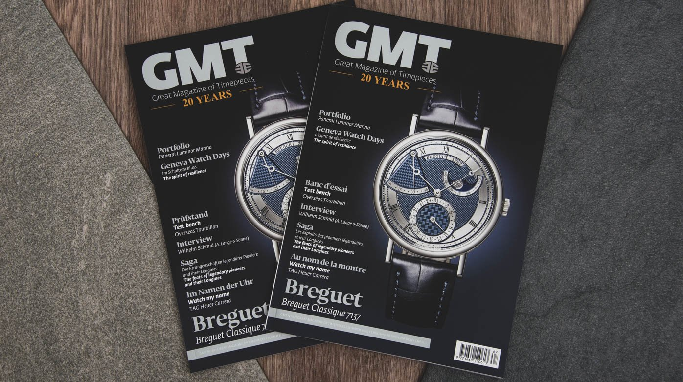 Magazine GMT - Back to watchmaking in 2020