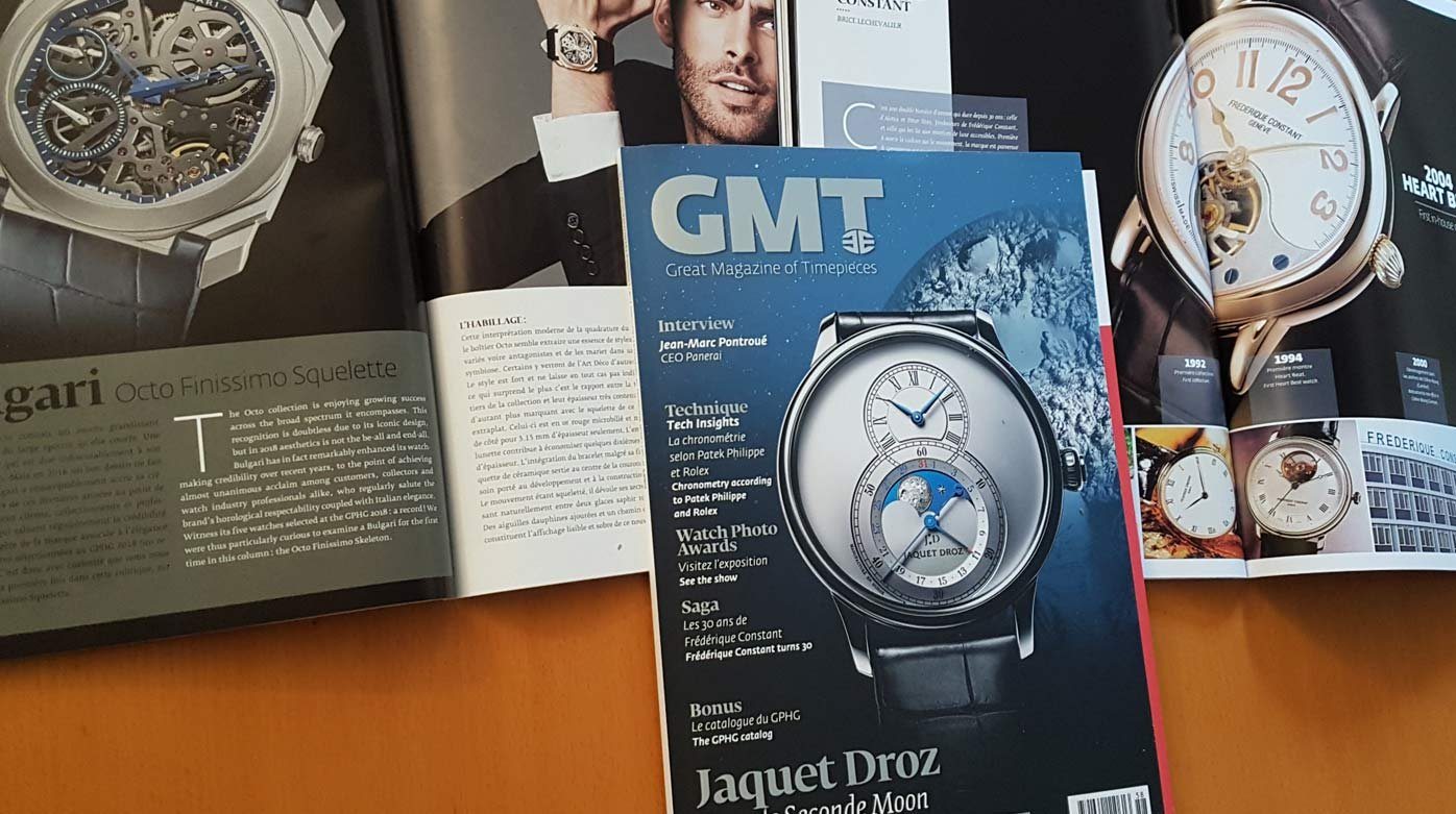 GMT Magazine - Black and light in the fall issue