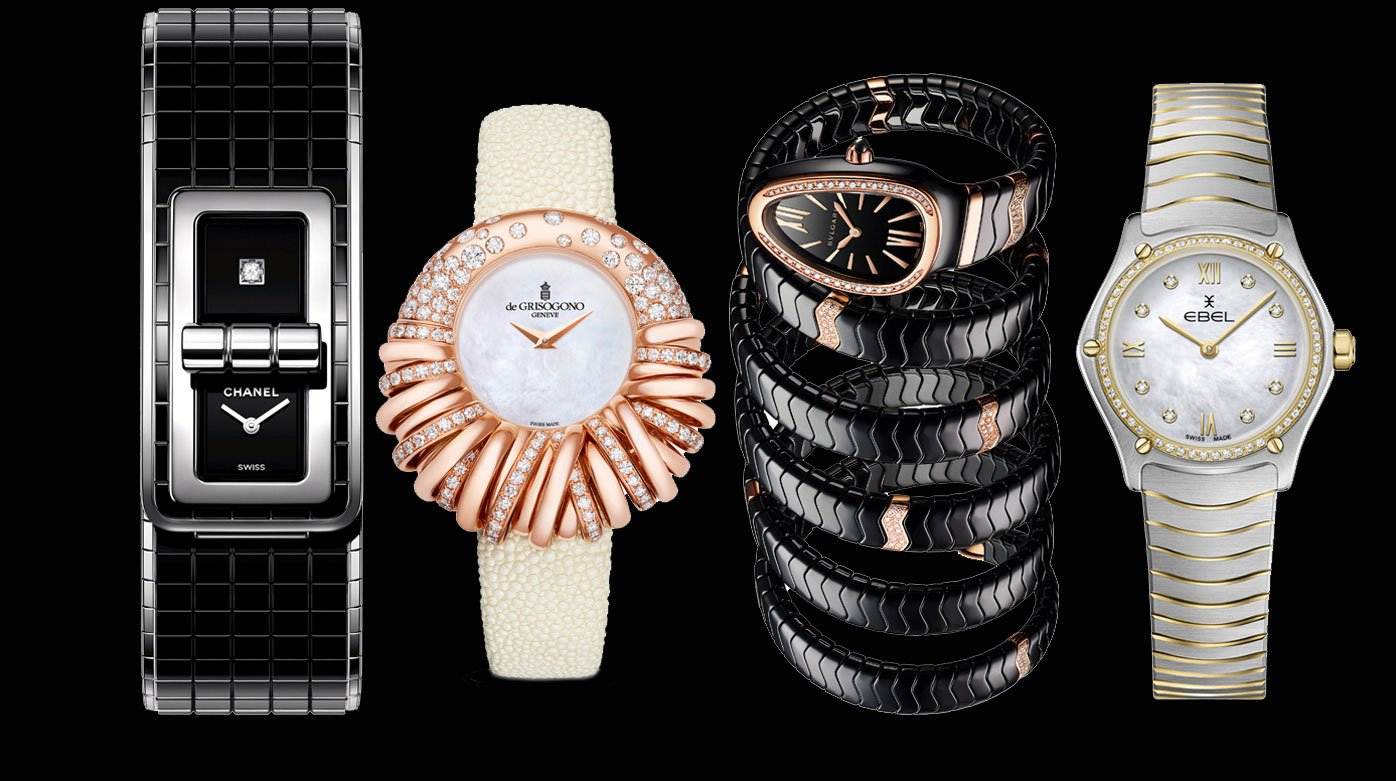 Ladies' watches - Four elegant watches. Make your choice!