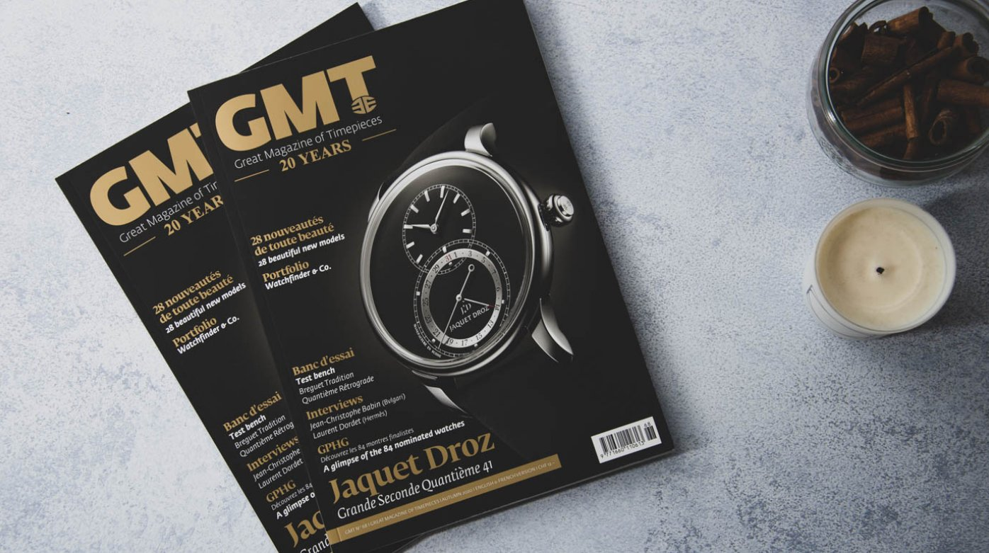 GMT Magazine: GPHG edition - Jaquet Droz on the cover