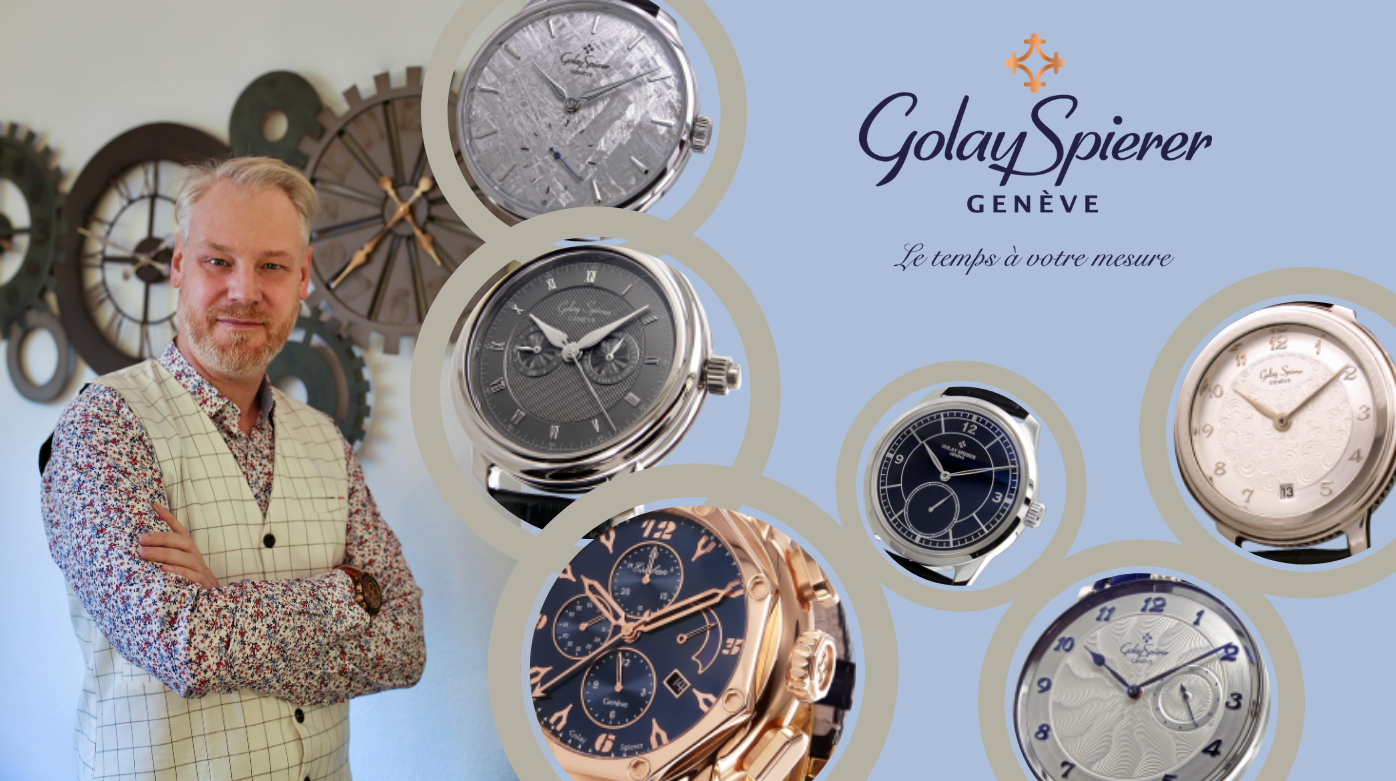 Golay Spierer - Ten Minutes With Christophe Golay: Discover The Man Behind Golay Spierer