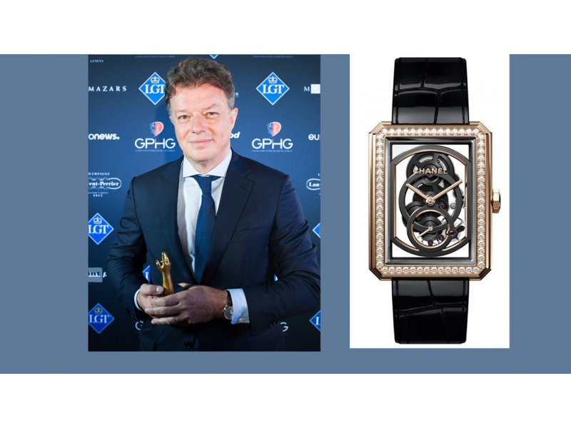 a398f5528d Chanel - Boy-Friend Skeleton watch honored at the GPHG - Trends and ...