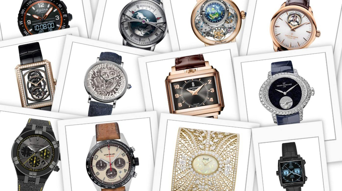 GPHG 2018 - 195 watches entered by 106 brands