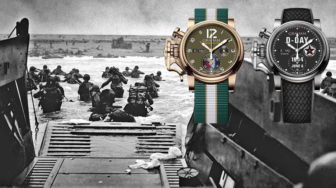 Graham - Two limited editions to commemorate D-Day