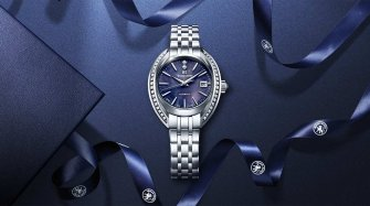A women's mechanical creation with natural elegance Trends and style