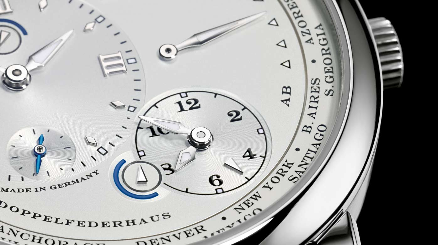 A. Lange & Söhne - Saxonia Annual Calendar, Grande Lange 1 Moon Phase, 1815 Up/Down and Lange 1 Time Zone