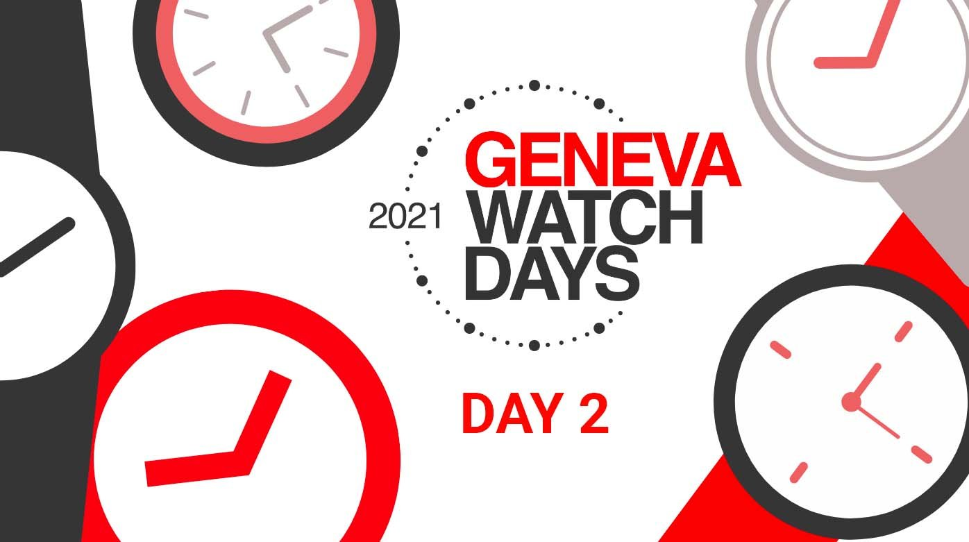 Geneva Watch Days - Highlights of GWD 2021: Days One and Two