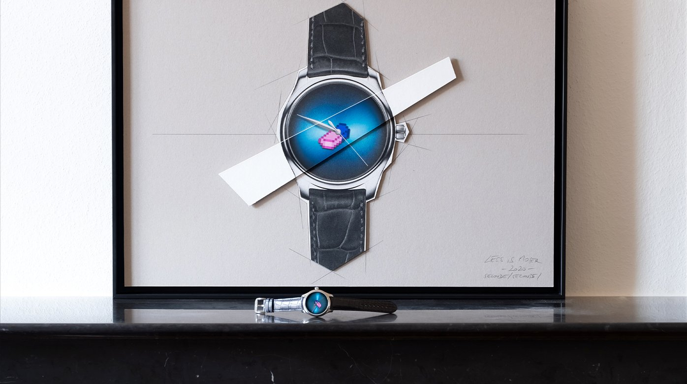 H. Moser & Cie. - Erase the brand to sublimate the creation