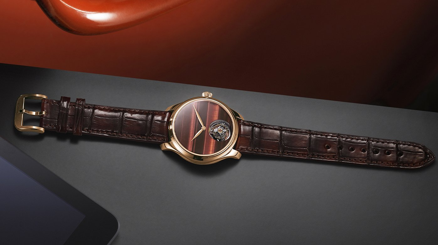 H. Moser & Cie - A whirlwind of light in the eye of the tiger